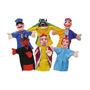 Simba Toys Simba 104586784Punch et Judy marionnettes 10cm Lot de 6