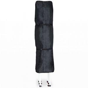 Intent24 Les housses de protection d'INTENT24 pour tentes pliantes barnum pliant tente de jardin tente parapluie 3x4,5 mètres, sont en matériau Oxford noir hydrofuge et anti-salissures d'épaisseur 480 g/m².FR