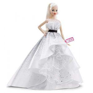 Image de Mattel 60ème Anniversaire Blonde - Poupée Mannequin de Collection