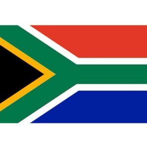 Drapeau supporter Afrique du Sud 150 x 90 cm