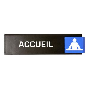 Novap Plaquette signalétique Europe Access Type Accueil