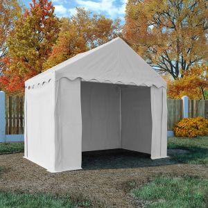 VidaXL Tente de rangement PVC 3 x 2 m Blanc