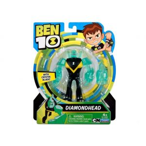 Giochi Preziosi Incassable - Figurine Ben10 articulée avec accessoires