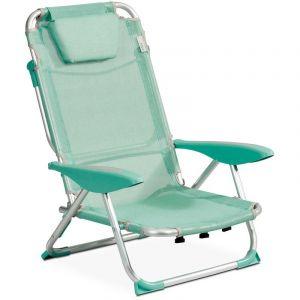 INNOV'AXE Clic clac des plages fauteuil - Bleu denim - CLIC CLAC DES PLAGES BY