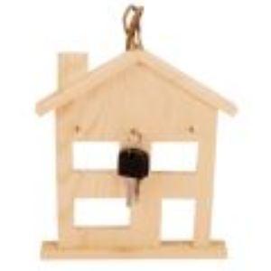 Mystbrand 40754 - Boite à clef en bois à décorer