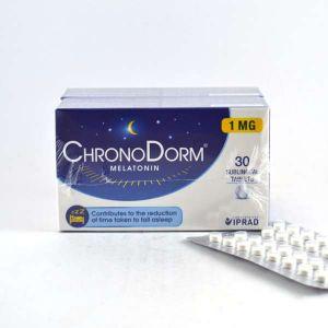 Laboratoires IPRAD ChronoDorm Melatonine - 30 comprimés sublinguaux