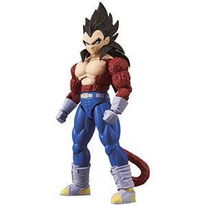 Bandai Figure-Rise Dragon Ball Z Super Saiyan 4 Vegeta Model Kit, 4549660144984, Multicolore