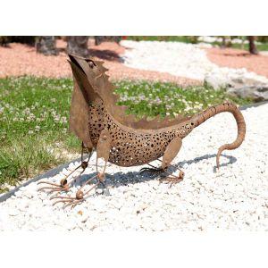 Nortene Iguane décoratif en métal