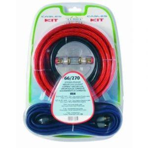 Phonocar Kit câbles alimentation 21 mm² + RCA pour amplificateur