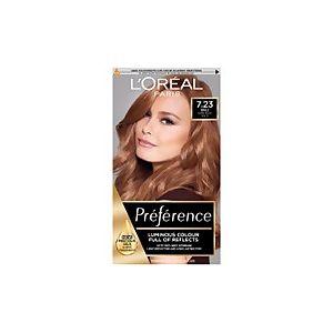 L'Oréal Preference Infinia 7.23 Rose Gold Blonde Permanent Hair Dye