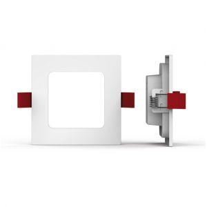 Xanlite Spot encastrable carré - 400 lumens - super slim