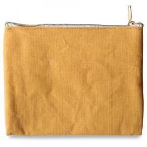 Pochette en tissu miel (21x16cm)