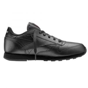 Reebok Classic Leather, Chaussures de Running Entrainement Garçon, Noir (Black 001), 37 EU
