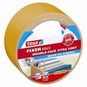 Tesa Adhésif double face pour sols FIXER extra-fort 10m