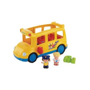 Fisher-Price Le Bus Scolaire des Little People