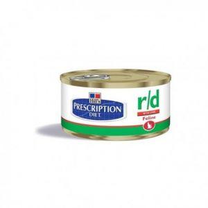 Hill's Prescription Diet r/d feline - 24 Boîtes de 156 g