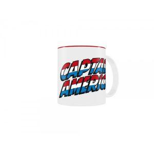 SD Toys Mug Marvel Captain America Classic Logo