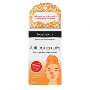 Neutrogena Visibly Clear Anti-Points Noirs 2en1 Patch/Exfoliant x6