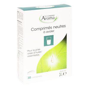 Le comptoir Aroma Comprimés neutres à avaler 30 comprimés