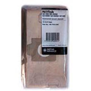 Nilfisk 1407015040 - 10 sacs en papier pour aspirateurs des séries GD930 et UZ930