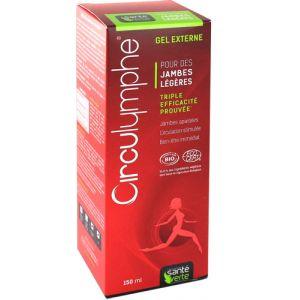 Sante verte Circulymphe - Gel externe pour les jambes légères