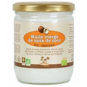 La maison du coco Huile Vierge de Noix de Coco bio & équitable 380 ml - Philippines - Pressée à froid