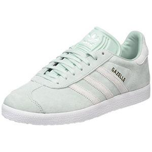 Adidas Gazelle W, Chaussures de Fitness Femme, Vert (Vercen/Ftwbla/Tinazu 000), 39 1/3 EU
