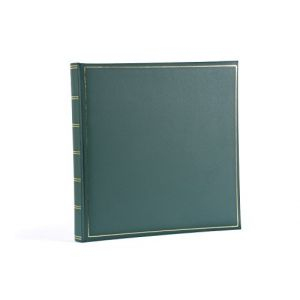 Henzo Album photo traditionnel Champagne vert 35 pages