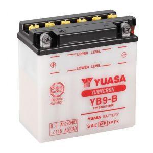 Yuasa Batterie 12V 6Ah YB9-B