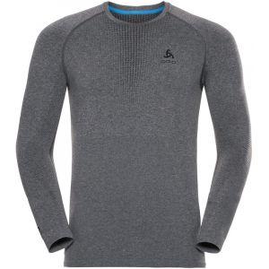 Odlo Performance Warm M vêtement running homme Gris/argent - Taille S