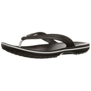 Crocs Crocband Flip, Tongs Mixte Adulte, Noir (Black) 41/42 EU