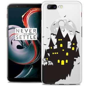 CaseInk Coque OnePlus 5T (6 ) Extra Fine Halloween Castle Dream