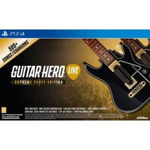 Guitar Hero Live Supreme Party Edition sur PS4