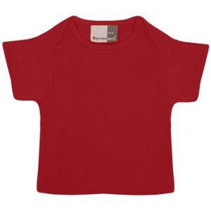 Promodoro T-shirt bébé en coton Enfants, 56/62, rouge feu