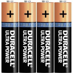 Duracell Piles AAA - LR03 - Alcaline par 4 - 1,5V Ultra Power