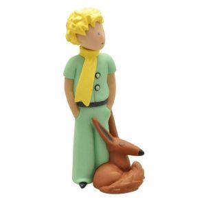 Plastoy Le Petit Prince Figurine Le Petit Prince Et Le Renard 7 Cm