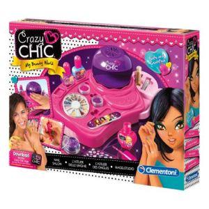 Clementoni Kit créatif Crazy Chic : L'atelier des ongles