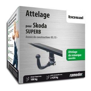 Bosal Attelage «col de cygne> démontable sans outils 038-013