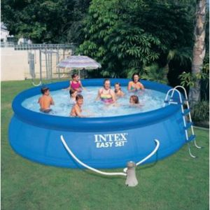 Intex Piscine autoportée Easy Set 4,57 x h1,07m