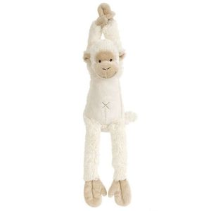 Happy Horse Peluche Musicale Singe Mickey Ivoire 37 cm - Doudou Musical