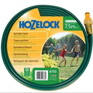 Hozelock Tuyau d'arrosage 7,5 mètres, irrigue jusqu'à 27 m2, incl. pièce de raccordement