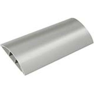 Brennenstuhl 1160650 - Protège-câble 75 mm x 17 mm longueur 1,0 m canal en PVC rigide et résistant au piétinement