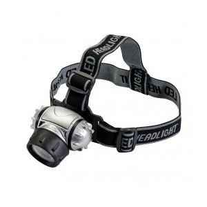 Silverline 140079 - Lampe frontale 12 LED