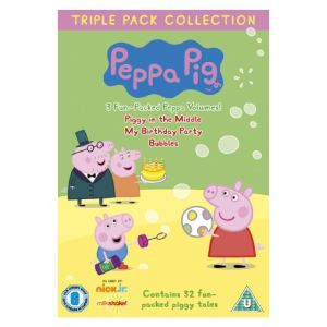 Coffret Peppa Pig - Piggy in the Middle + My Birthday Party + Bubbles