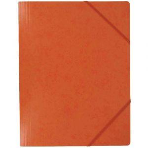 Coutal Chemise carte lustree elastique 5/10 24x32 havane