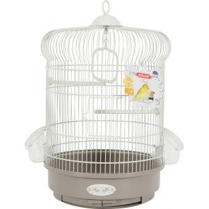 Zolux Cage arabesque Ines 40 cm Taupe