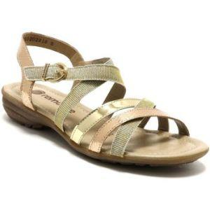 Remonte Sandale Pour Femme R3631-90 Or, Tailles Femmes:41, Couleur:Gold