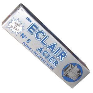 Liem Produit d'entretien pour l'acier Eclair acier n°8 (75 g)
