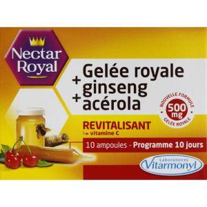 Laboratoires Vitarmonyl Nectar Royal Gelée Royale + Ginseng + Acérola