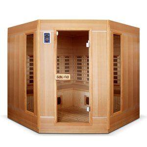 Bain et confort Sauna infrarouge 4 à 5 places Ethis grande